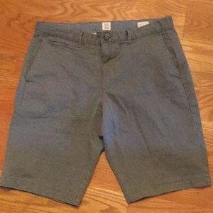 Gap flat front shorts, 33x21